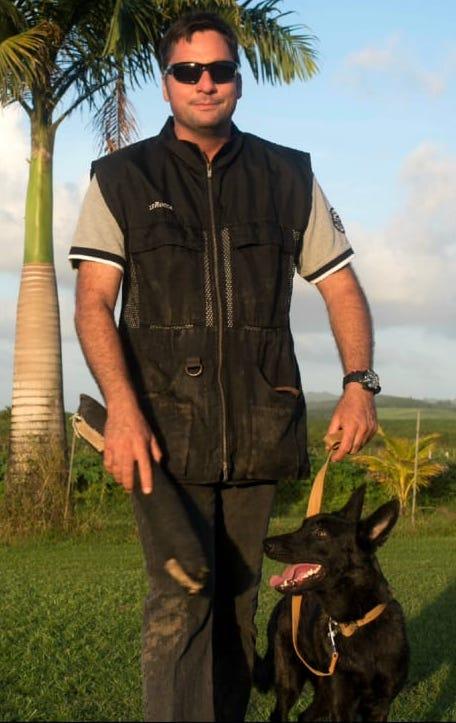 François Michel - Club d'Education Canine Saléen en Martinique